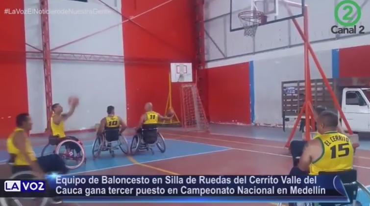 Baloncesto en silla de ruedas canal 2 cali - Baloncesto silla de ruedas ...