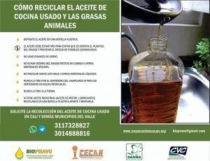 Cómo reciclar el aceite de cocina usado y las grasas animales